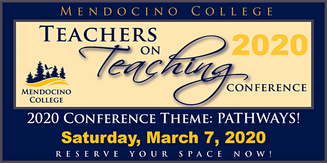 Teachers on Teaching Conference, Pathways!  K-College tickets