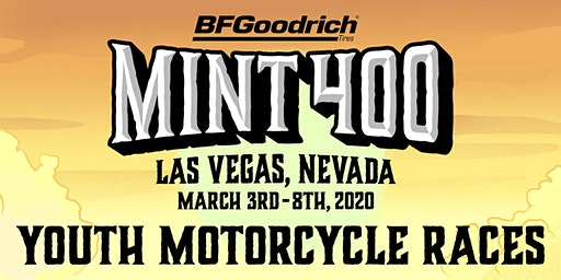 2020 Mint 400 Youth Motorcycle Races