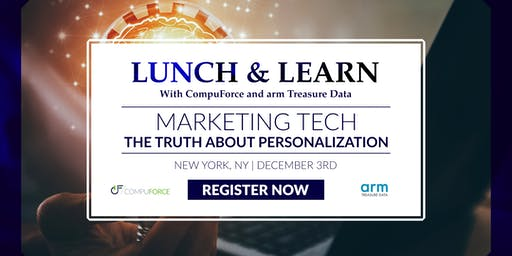 Marketing Tech - The Truth About Personalization (Lunch and Learn)