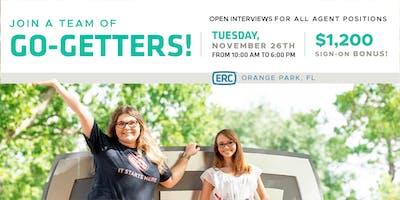 ERC Orange Park Open Interviews November
