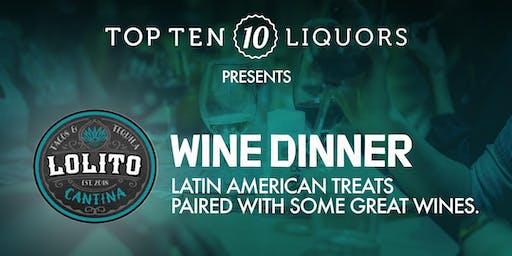 Lolito Cantina Wine Dinner