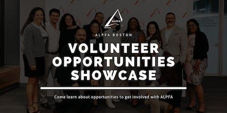 ALPFA Boston Volunteer Opportunities Showcase tickets