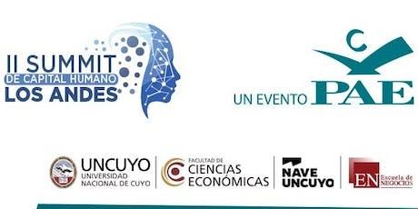 II Summit de Gestión de Capital Humano de los Andes tickets