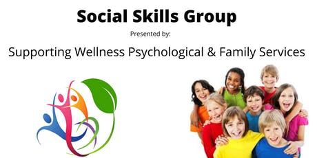 Social Skills Group (9 to 12 Years Old) tickets