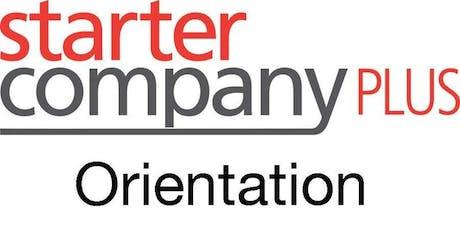 Orientation: Starter Company Plus tickets