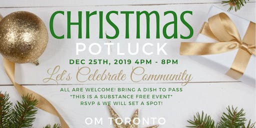Christmas Potluck: A Celebration of the Community Heart