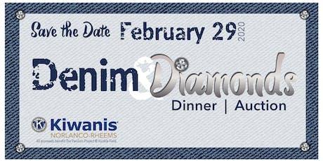 Kiwanis Denim and Diamonds Dinner Auction tickets