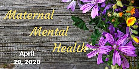 Maternal Mental Health tickets