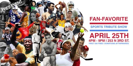 FREE EVENT : SPORTS TRIBUTE EXHIBIT tickets