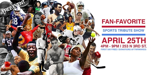 FREE EVENT : SPORTS TRIBUTE EXHIBIT