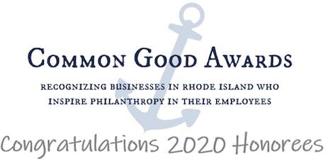 2020 Common Good Awards tickets