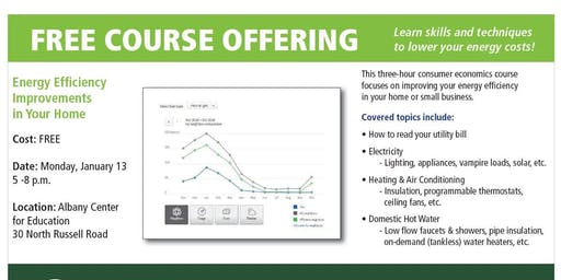 Energy Efficiency Improvements in Your Home