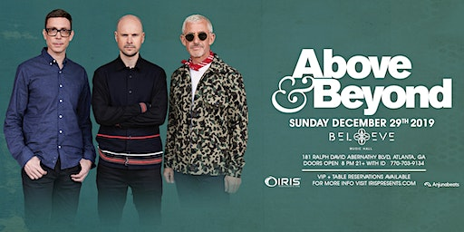 Above & Beyond - 21+ Open Early | IrisESP101 Learn to Believe | Sun Dec 29 : This show will 100% sell out.  WARNING: Less than 200 tickets remain.