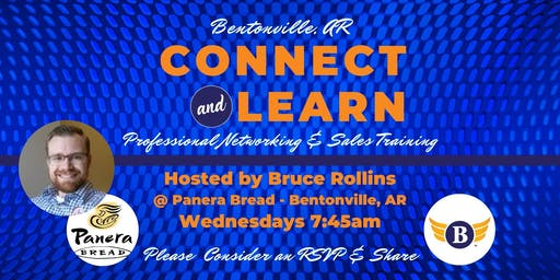 Bentonville, AR: Connect & Learn | Professional Networking & Sales Training