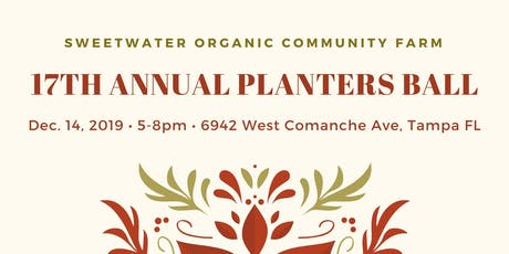 17th Annual Planters Ball tickets