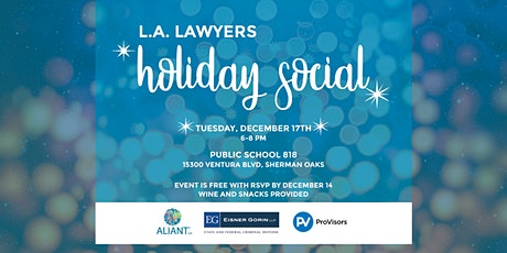 LA Lawyers Holiday Social tickets