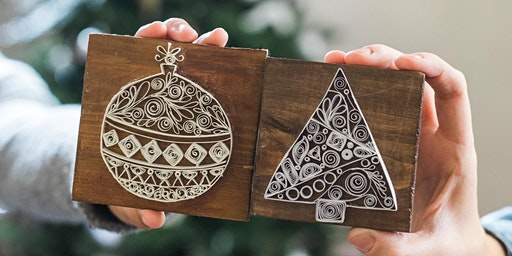 Late Night Craft Party: Holiday Quillin' and Chillin' with See Lang Design
