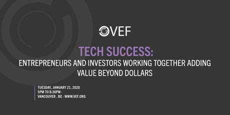 VEF: Tech Success tickets