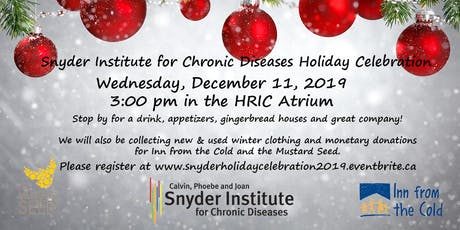 Snyder Institute Holiday Celebration tickets