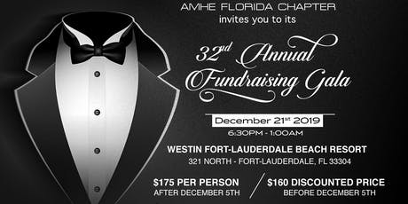 AMHE Florida 32nd Annual Fundraising Gala tickets