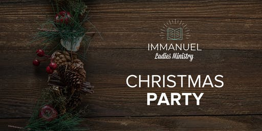 Immanuel Ladies Christmas Party