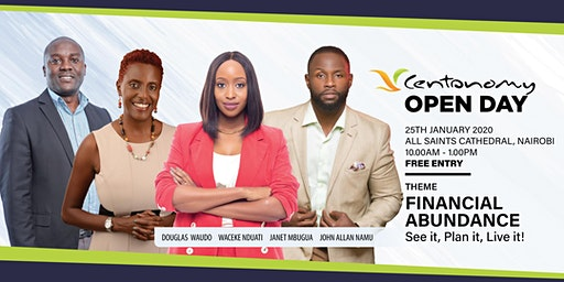 Centonomy Open Day-Financial Abundance; See It, Plan It, Live It!