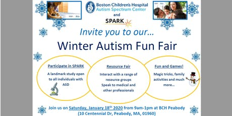 Winter Autism Fun Fair tickets