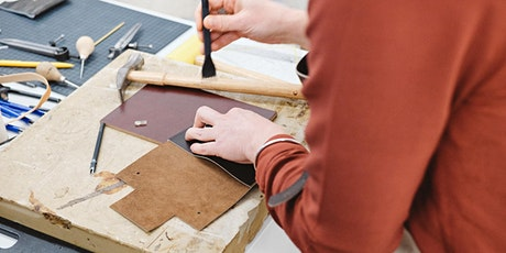 Leather Course - Custom leathergoods & hand-stitching (Sat. 14/03) tickets