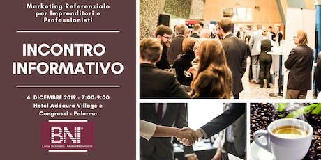 Incontro Informativo BNI - Region BNI Palermo biglietti