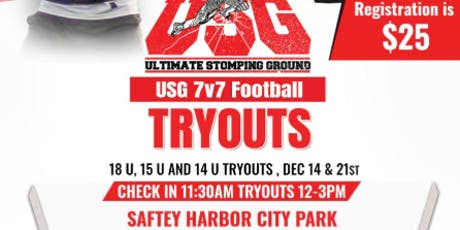 USG 7V7 Football Tryouts tickets