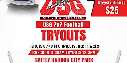USG 7V7 Football Tryouts