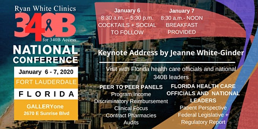 Ryan White Clinics for 340B Access National Conference