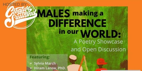 Males Making a Difference in Our World: Poetry Performance & Q&A tickets
