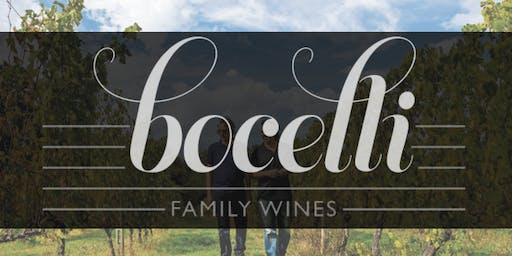 Bocelli Family Wine Tasting with Greg Rivera