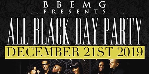 BBEMG ALL BLACK DAY PARTY 2019