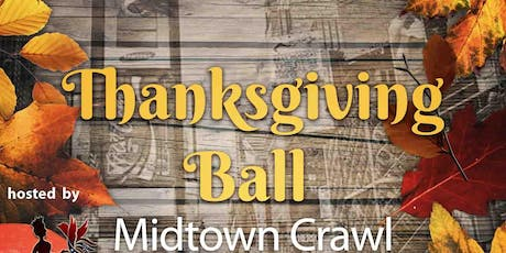 Thanksgiving ball midtown crawl tickets