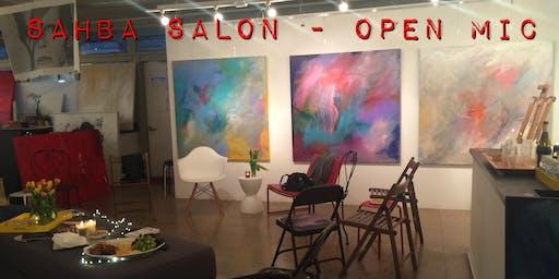 Holiday SAHBA Salon Mixer - Open Mic!