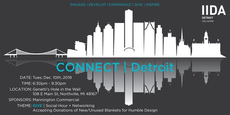 CONNECT | Detroit: Holiday Social Hour to Benefit Humble Design tickets