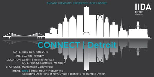 CONNECT | Detroit: Holiday Social Hour to Benefit Humble Design