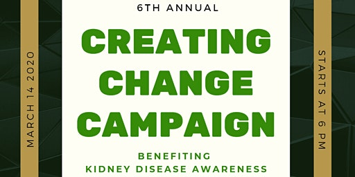 6th Annual Creating Change Campaign Gala