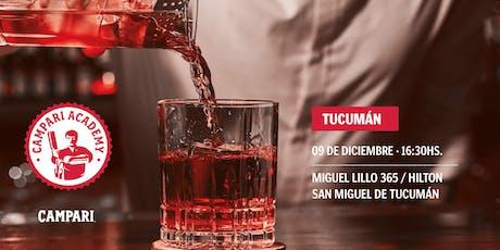 Campari Academy Tucumán  entradas