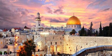 Mystical Jerusalem; Archaeology, Religion, Traditions, Conflict- Free Lecture with Dr. James Rietveld tickets
