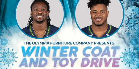 Winter Coat & Toy Drive with our Seattle Seahawks Special Guest tickets