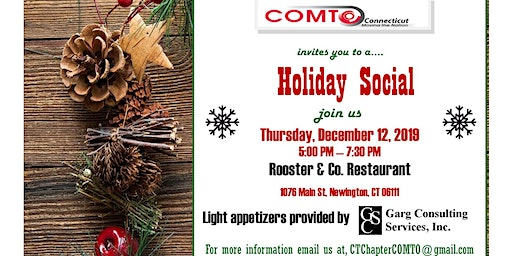 Comto-CT  Holiday Social