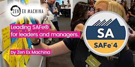 Scaled Agile for Leadership - Leading SAFe 4.6 - Brisbane tickets