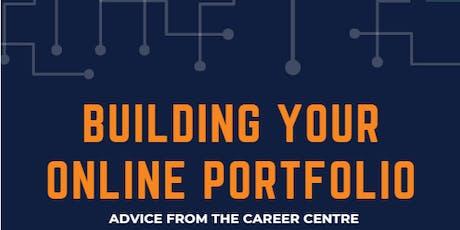 Building your Online Portfolio tickets