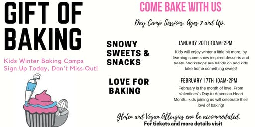 Winter Camp Session: Snowy Sweets & Snacks
