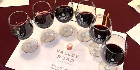 Vertical Wine Tasting & Food Pairing tickets
