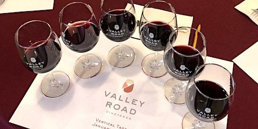 Vertical Wine Tasting & Food Pairing
