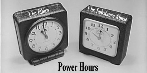 Power Hours: Ethics and Substance Abuse - Live CLE